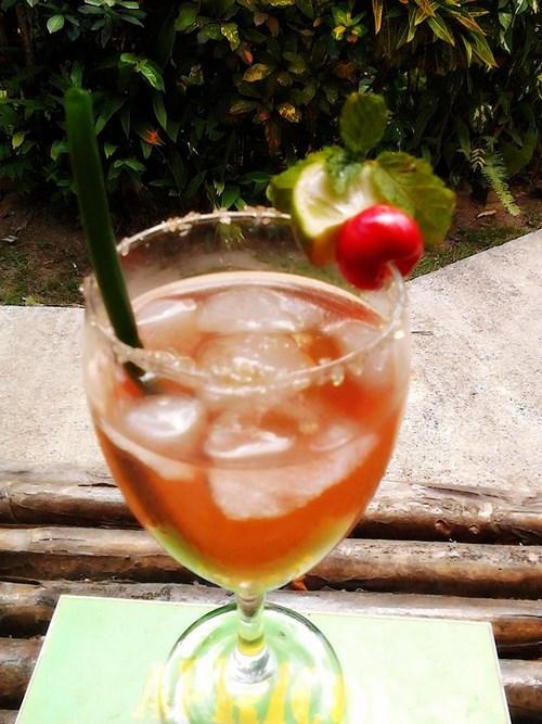 enjoy a delicious lunch or dinner or drink at Kanawa Restaurant & Mayan Bar.  Rodney's Wellness Retreat